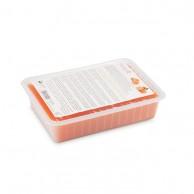 Pollié - Parafina Naranja Y Melocotón bandeja 500gr tratamiento manos y pies | Comprar parafina para pies y manos naranja y melocotón | venta de parafina profesional al Mejor Precio | Ofertas