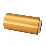 Rollo papel aluminio Dorado mechas bobina papel plata para peluquería 125 metros | comprar Rollo papel aluminio oro mechas barato | mejor precio papel plata dorado para peluquería para mechas y tinturas