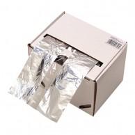Rollo papel aluminio franja transparente mechas caja papel plata para peluquería 60 metros| comprar Rollo papel aluminio transparente mechas barato | mejor precio papel plata color  para peluquería para mechas y tinturas