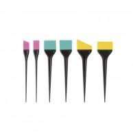 Set de Paletinas de Silicona Perfect Beauty Colors 6 Uds