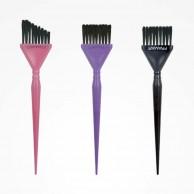 Set de Paletinas Tri-Coloring para Tinte Framar Rosa, Lila y Negra