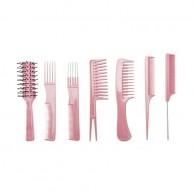 Set de Peines con Funda Perfect Beauty Gea Pink