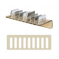Soporte de pared para 9 cuchillas de pelquería | comprar Soporte de pared para 9 cuchillas de pelquería al mejor precio