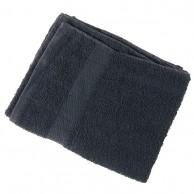 Toalla negra para barbería y Peluquería 100% algodón 40x80 | Comprar toalla de peluquería negra barata |  toalla negra para barberías