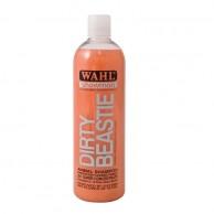 Wahl Chamú dirty beastie concentrado 500ml al mejor precio |  comprar Wahl Chamú dirty beastie concentrado medio litro para perros