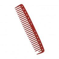 YS Park peine púa ancha 202mm rojo Y.S.452 precisión Peines peluquería profesionales
