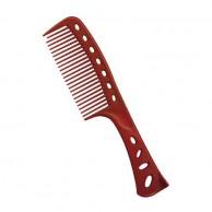 YS Park peine rojo Y.S.601 Especial Tinte Champú permanente y pelo afro