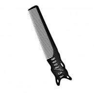 Ys park Y.S209. Peine barberos carbono profesional