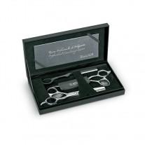 "Artero Mystery  kit 3 herramientas  Tijera corte 6"" + Esculpir 6"" Navaja Creative Black"