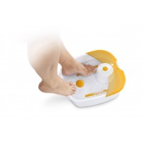 Bañera SPA masajes pies Medisana pedicura reflexología podal