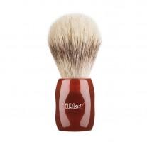 Brocha de Afeitar barbero pelo Caballo Cerdo 24mm Rojo