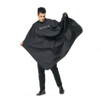 Capa de Corte o Peinadora Moser Nylon 135 x 150 Negra
