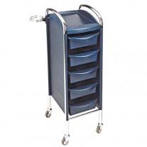 Carrito Auxiliar Peluquería Efalock 6060 Azul
