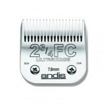 Cuchilla Andis ultradege Blade 2 3/4 7.9mm Cabezal Andis 63165