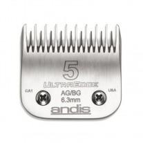 Cuchilla Andis ultradege Blade N5 6.3mm Cabezal Andis 64079