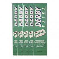 Cuchilla de Afeitar Derby pack 5 x 100 Uds Doble Hoja