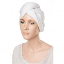 Gorro Toalla blanco para secar cabello