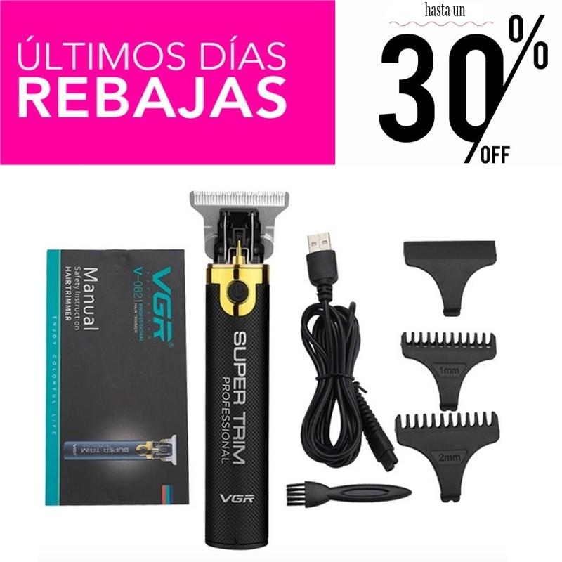 Detailer Super Trimmer Recortadora profesional cordless recargable inalámbrica REBAJAS - 30%