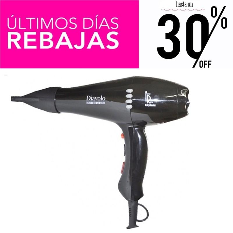 Irene Rios Secadores Profesionales ionicos Diavolo 2400w + 2 boquillas Rebajas - 30%