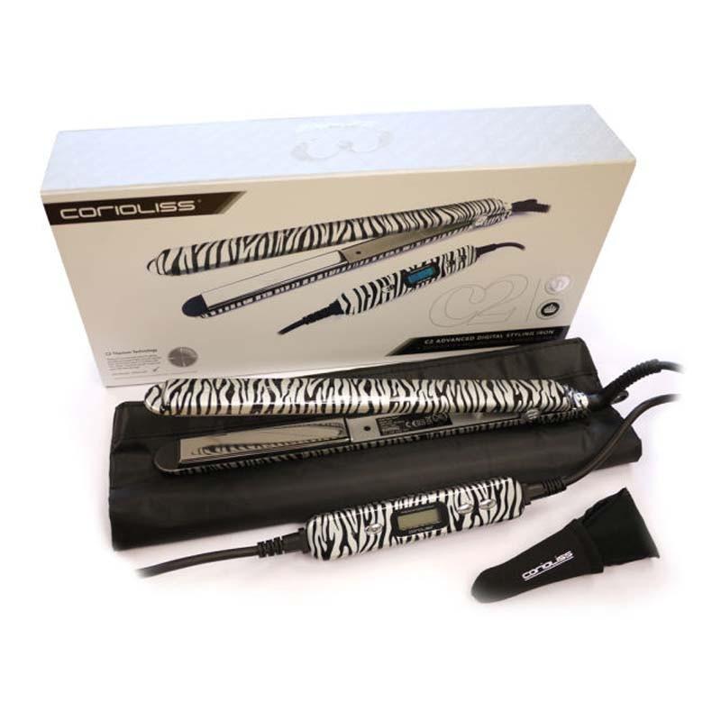 Corioliss C2 Platinum Zebra Planchas de Titanio Profesionales