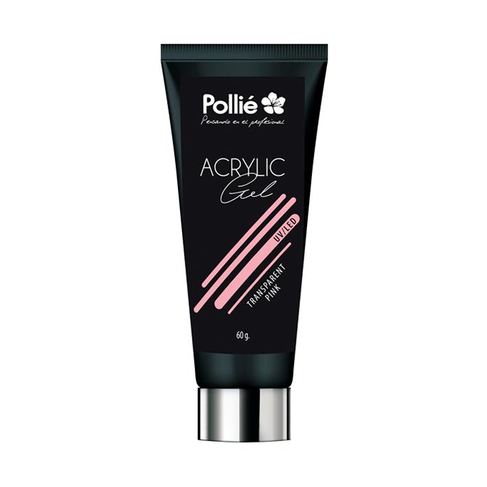 Pollié - Acrylic Gel Uñas P-Lack Rosa transparente