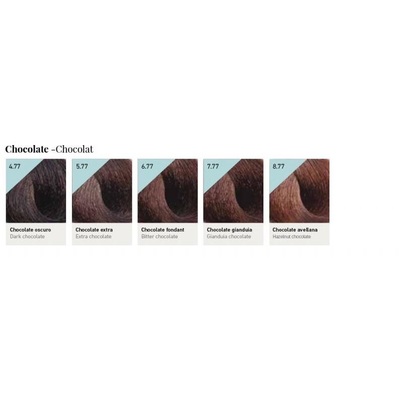 Tinte Color Lux Keratin, Argán y Vitamine Complex Design Look Tonos Chocolate