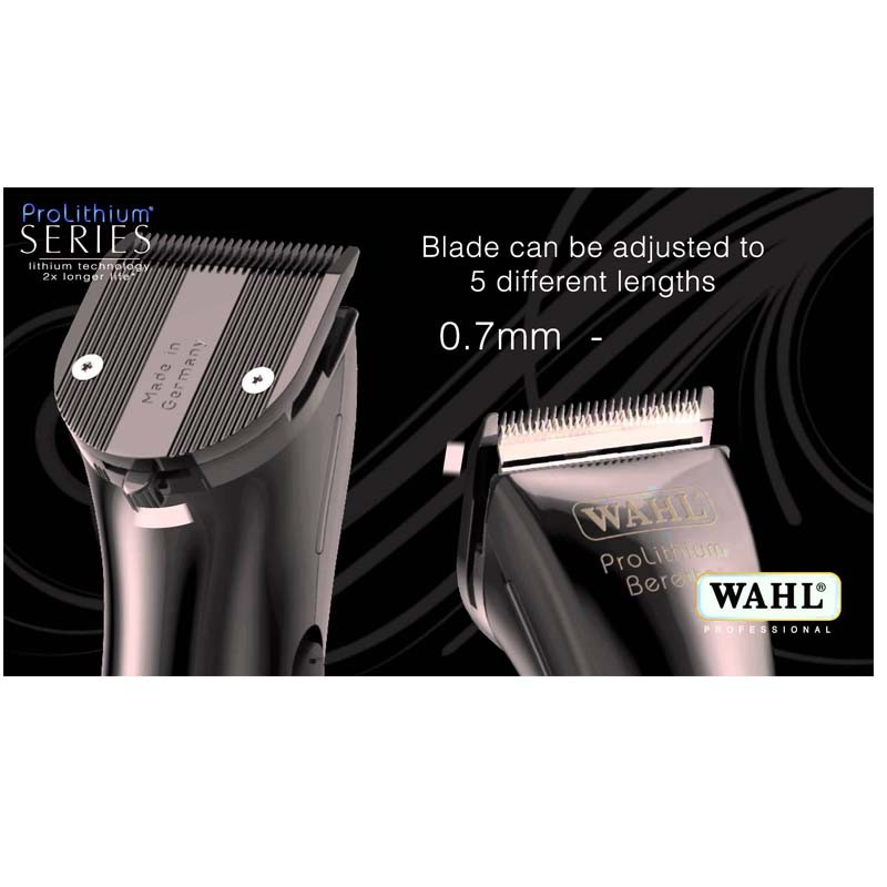 Wahl BERETTO STEALTH NEGRA Cortapelos Profesional 0,7-3 mm