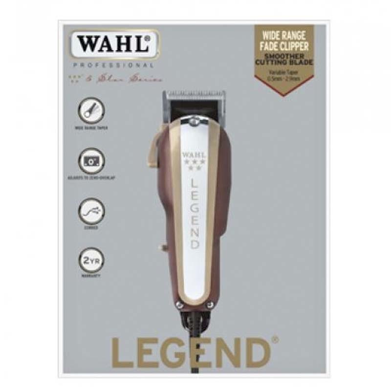 Wahl Legend 5 Star 8 Peines Premium Máquina Profesional Degradados
