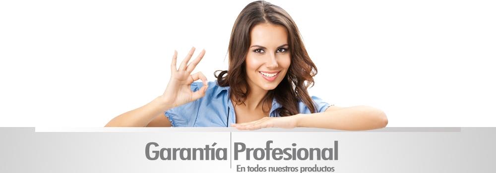 Garantía Profesional productos peluquería